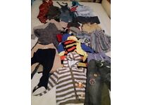 Bundle of Boys Clothes size 12-18 mths (over 40 items)