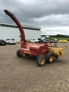 2003 New Holland FP240 Forage Harvestor London Ontario image 2