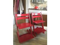 High Chair Stokke Tripp Trapp, selling as pair or individually