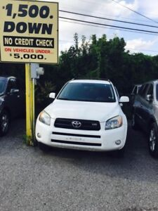 2007 Toyota RAV4 PRE-OWNED CERTIFIED-SUPER CLEAN LOADED 4WD SPOR