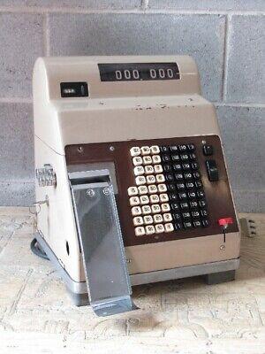 Vintage Cash Register till Shop Brand Hugin Use Advert' or Displays