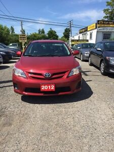 2012 Toyota Corolla FULLY CERTIFIED- UBER DRIVERS WELCOME #1 ECO