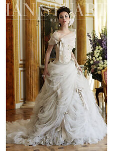 Unique designer wedding dress - best deal for such a piece