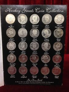 Hockey Greats Limited Edition Coin Collection Official 1996-1997 Windsor Region Ontario image 1