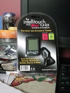 GUITAR TUNER – New Intellitouch  PT10 Mini-Tuner (Automatic & Ch