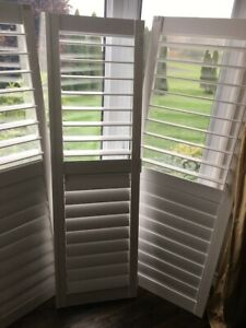 California Window Shutters - 7 pieces - LIKE NEWThis is a pack