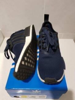Adidas NMD X JDSPORTS R1 BLUE BB1356 US8.5 USED GOOD CONDITION