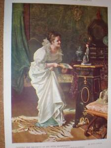 Paying-her-respects-Tito-Conti-print-1907