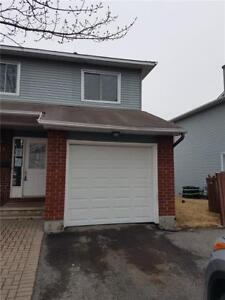 Clean 3 bedrooms 3 bath end unit with no rear neighbours