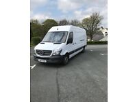 MERCEDES-BENZ SPRINTER 2.1 CDI 313 Extra High Roof Panel Van 4dr (LWB) (white) 2013