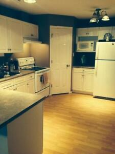 2 bdrm fully furnished suite with Garage! North end. Avail Nov 1