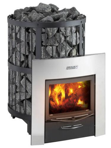 New! Harvia Legend 240duo Woodburning Sauna Heater, Free Eucalyptus