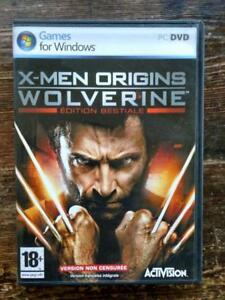 PC jeu X-MEN WOLVERINE