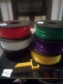 3D Filament 1.75mm 1kg PLA makerbot/hatchbox