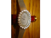 Ladies Omega Watch - Solid 18ct Gold & 1.3ct Diamonds - RARE