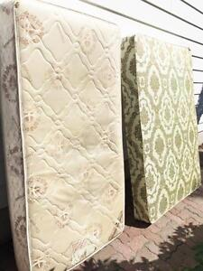 2 garage full of mattress and box, excellent condition, differen