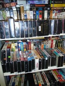 50 VHS Movies – free when you buy 100