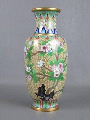 Jar Eastern Enamelled with Decoration Cloisonne' Shapes Floral Xx Century