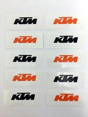 XY001515 KTM Logo Original Sticker Aufkleber KTM Racing TOP WARE