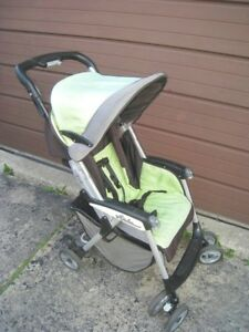 Used Lightweight Peg Perego, no child tray (missed), good condit