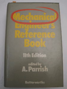 Mechanical Engineer's Reference Book, 11th Edition, A. Parrish
