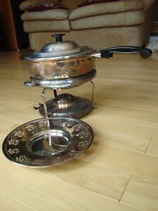 Vintage Copper Chafing/ Warming / Fondue Pot - Great Condition Kitchener / Waterloo Kitchener Area image 7