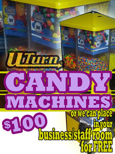 Candy Snack Machines - Modern and Hygienic - Easy to use