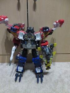 Transformers Energon Optimus Prime and Wing Saber Loose
