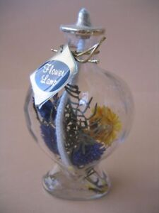 Flower Oil Lamp, Brand New, One of a Kind
