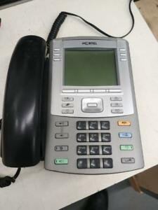 Nortel / Avaya IP VOIP phone 1140e NTYS05AEE6 with handset & Stand (NO Adapter)