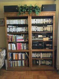 Nice walnut bookcase