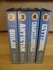 The Civil War 125th Anniversary Series 4 VHS Set -Mint Condition Kitchener / Waterloo Kitchener Area image 4