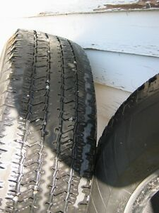 Set of 4 Hankook Dynapro AT M & S Truck Tires Used Kingston Kingston Area image 4