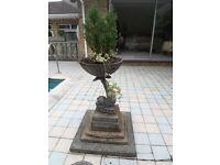 Cast Iron Fish Garden Ornament
