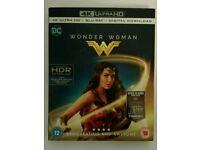 Wonder woman 4k blu ray