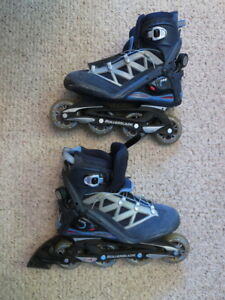 Abec 7 Rollerblades Women's Size 9 In Great Cond.  - Low Price