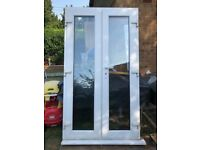 **SOLD**UPVC FRENCH DOORS / PATIO DOOR DOUBLE GLAZED DOOR**CLEAR GLASS**NO OFFERS**MORE AVAILABLE**
