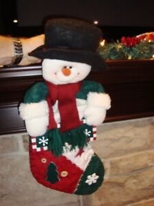 Set of 2 Christmas Stockings -Shown in these pictures $8/both Kitchener / Waterloo Kitchener Area image 2
