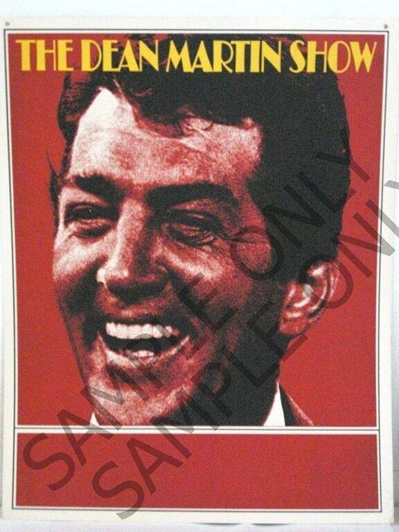 "The Dean Martin Show NBC TV Promo Poster ORIGINAL Silk-Screen 22"" X 28"" Poster"