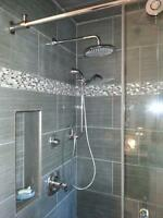 TILE - Kitchen Backsplash, Walk-In Showers, Floors