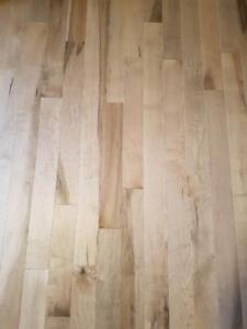 Solid Maple Hardwood