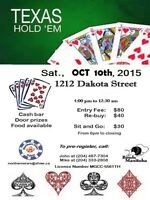 TEXAS HOLDEM POKER TOURNAMENT