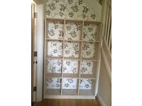 Pine Bookcase professionally painted oatmeal