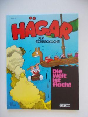 Hägar Nr. 5 Die Welt ist flach! - Hardcover - Ehapa Verlag - Zustand 1-