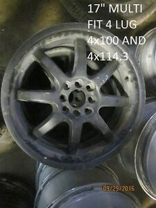 SETS OF FOUR (4) AFTERMARKET WHEELS @ PIC N SAVE WOODSTOCK