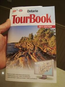 Ontario CAA Tour Book - 638 pages!  Super condition Kitchener / Waterloo Kitchener Area image 1
