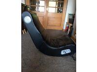 X Rocker folding gaming chair.