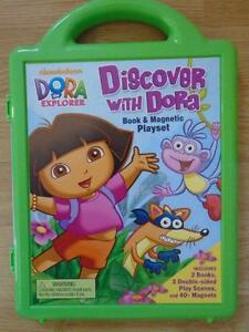 Dora Magnetic Book and Playset