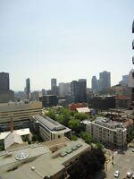 Spacious 2br, clean,  Downtown Montreal, Mcgill