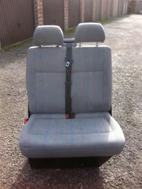 Genuine VW T5 Inca double front/middle/back storage seats